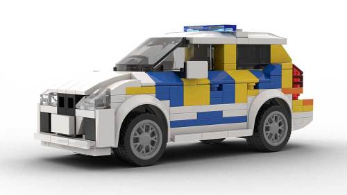 LEGO BMW 2 Series Police model