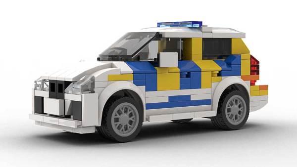 LEGO BMW 2 Series Police model