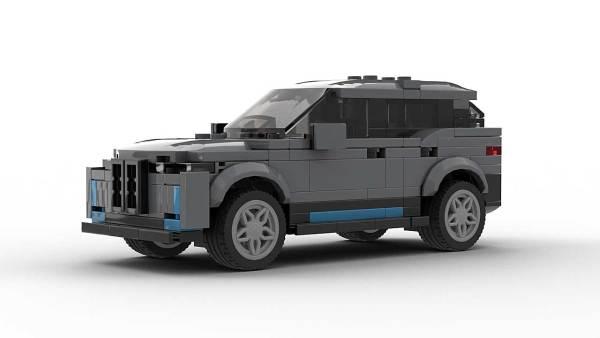 LEGO BMW iX model