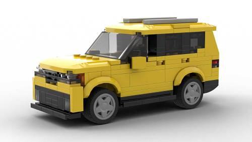 LEGO Volkswagen Atlas model
