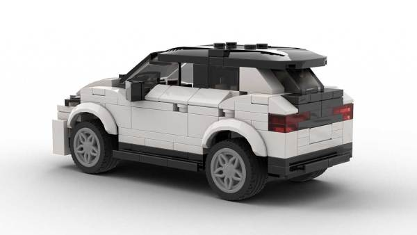 LEGO Volkswagen ID3 model rear view