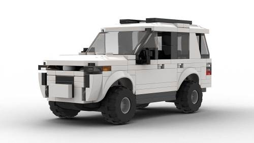 LEGO Toyota 4Runner SR5 model