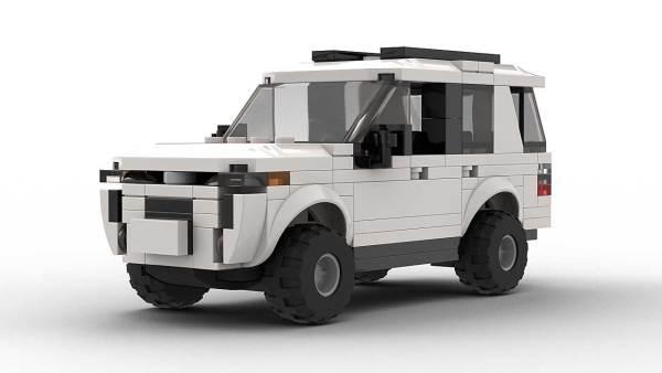 LEGO Toyota 4Runner SR5 model