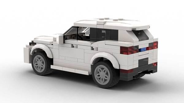 LEGO BMW X2 model rear view