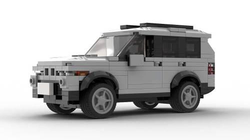 LEGO BMW X5 E53 model