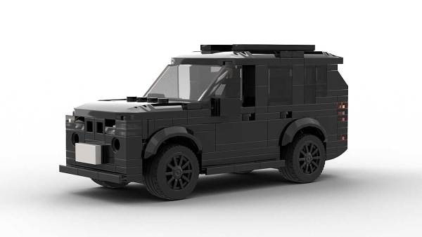 LEGO BMW X5 E70 model