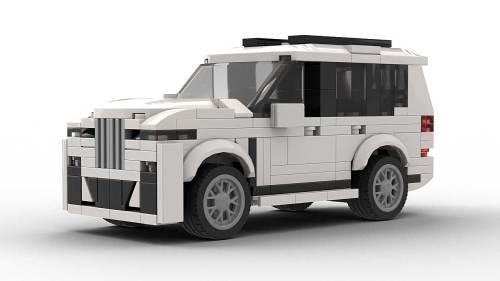 LEGO BMW X7 model