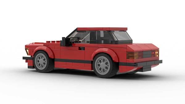 LEGO BMW E21 Model Rear View
