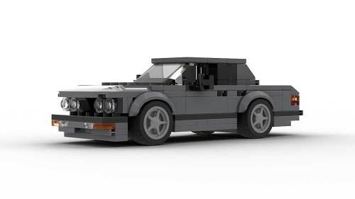 LEGO BMW E28 model