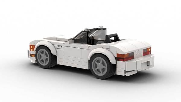 LEGO BMW Z3 Model Rear View