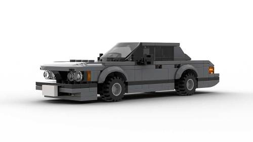 LEGO BMW E23 7 Series Model