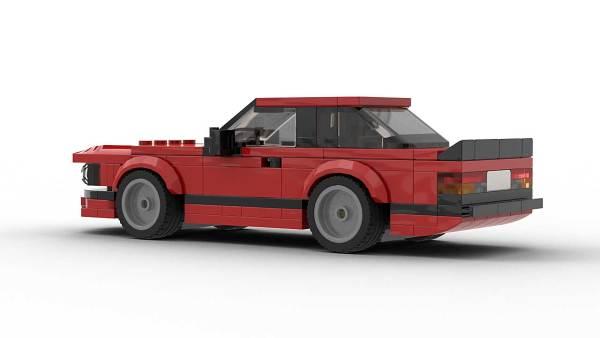LEGO BMW E24 EU Model Rear