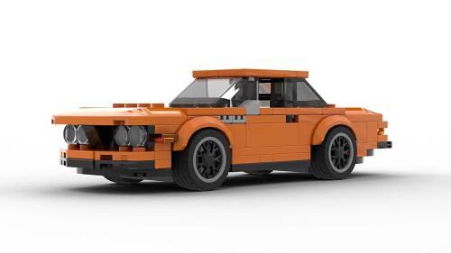 LEGO BMW E9 3 0 CSL Alpina model