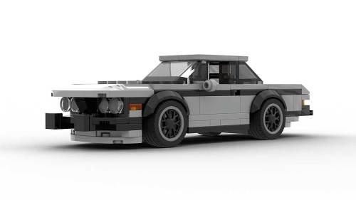 LEGO BMW E9 3 0 CSL Coupe Model