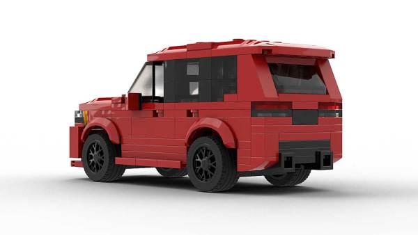 LEGO Jeep Grand Cherokee SRT Model Rear