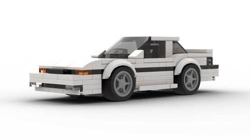 LEGO Toyota Supra 86 Model