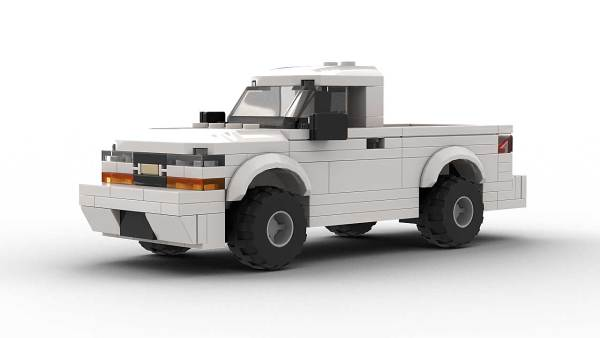LEGO Chevrolet S10 2001 Single Cab Model