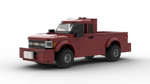 LEGO Chevrolet S10 96 Extended Cab Model