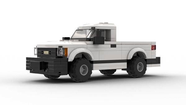 LEGO Chevrolet S10 96 Single Cab Model