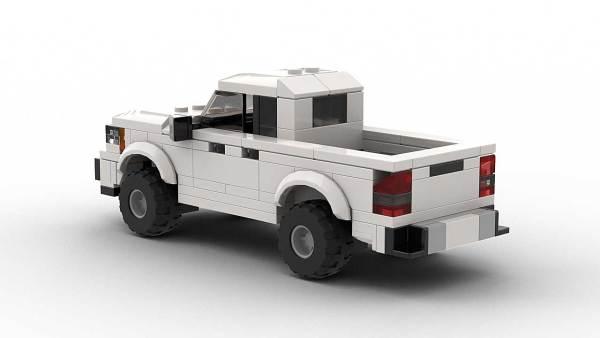 LEGO Chevrolet Colorado 2021 Model Rear
