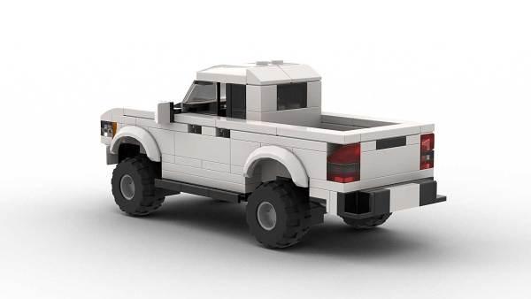 LEGO Chevrolet Colorado ZR2 Model Rear
