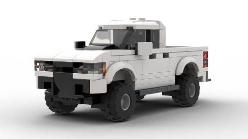 LEGO Chevrolet Colorado ZR2 Model