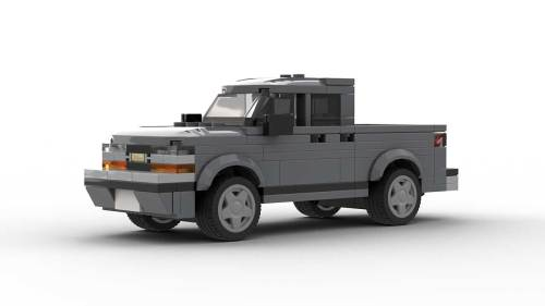 LEGO Chevrolet S10 2001 Crew Cab Model