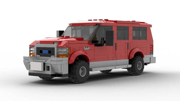 LEGO Ford Excursion Model Front