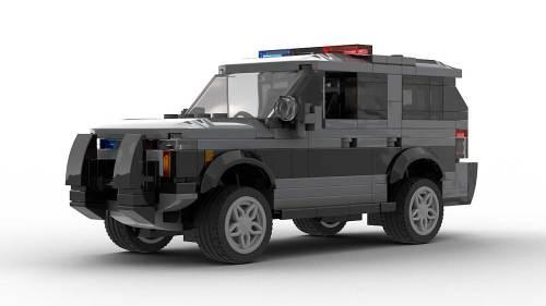 LEGO Chevrolet Tahoe PPV 21 Gray Model