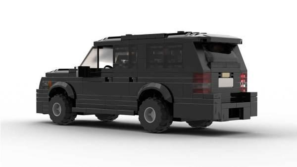 LEGO Chevrolet Suburban 12 Unmarked Rear Model