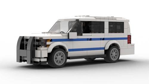 LEGO Chevrolet Suburban 18 NYPD Model