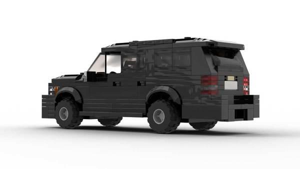 LEGO Chevrolet Suburban 2012 Model Rear