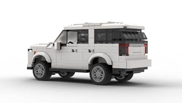 LEGO Chevrolet Tahoe 22 Model Rear