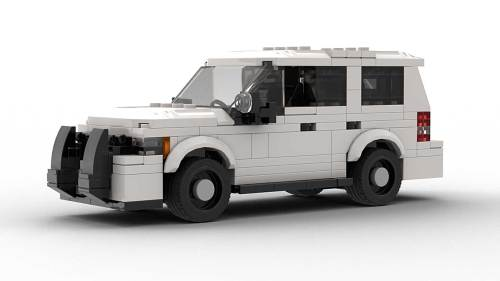 LEGO Chevrolet Tahoe PPV 2012 White Model