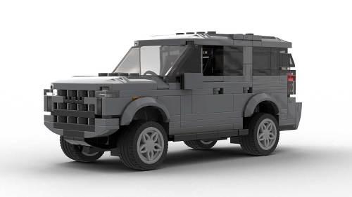 LEGO Chevrolet Tahoe Z71 21 Model