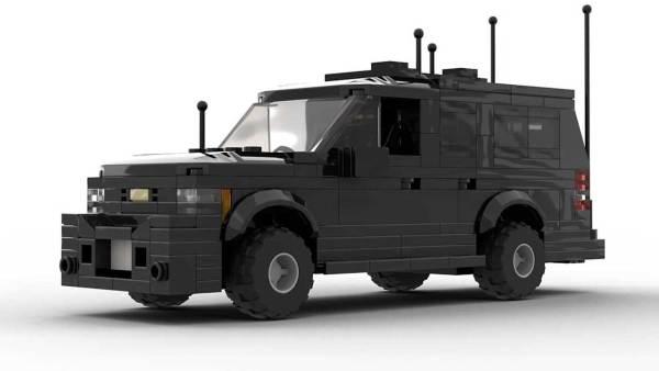 LEGO Chevrolet Suburban Secret Service Model