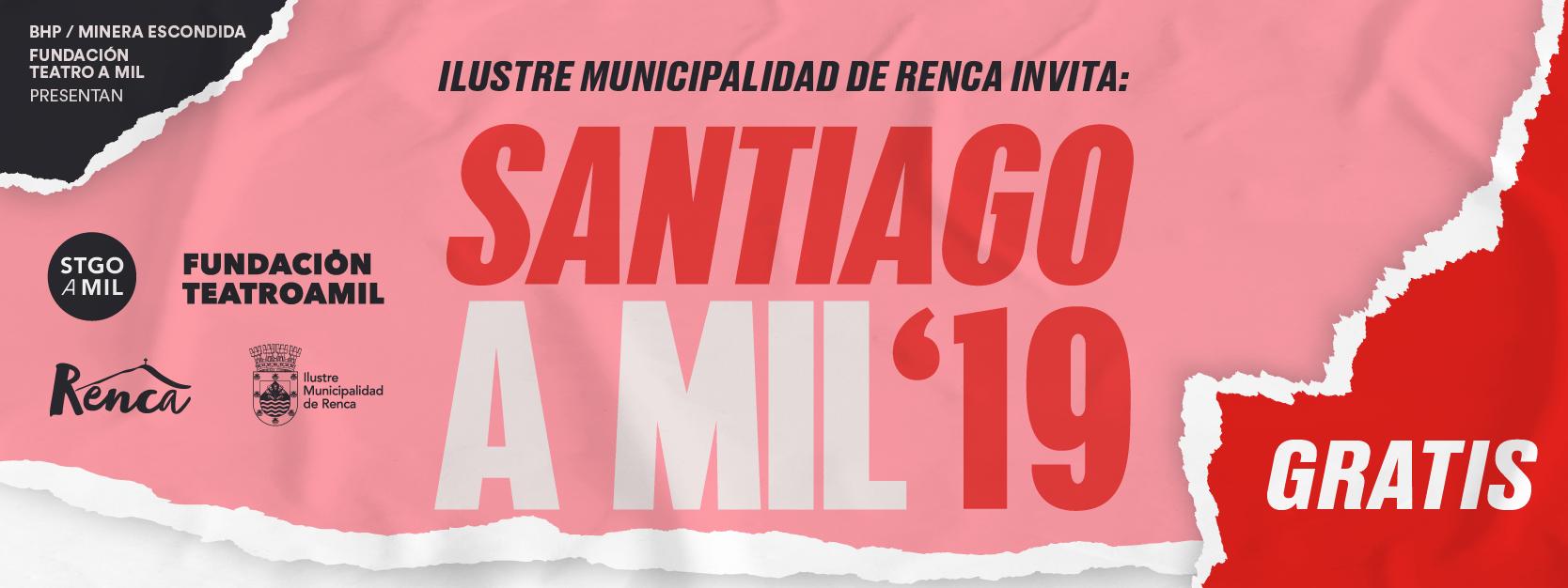 Te invitamos a disfrutar del festival de teatro más importante de Chile en Renca