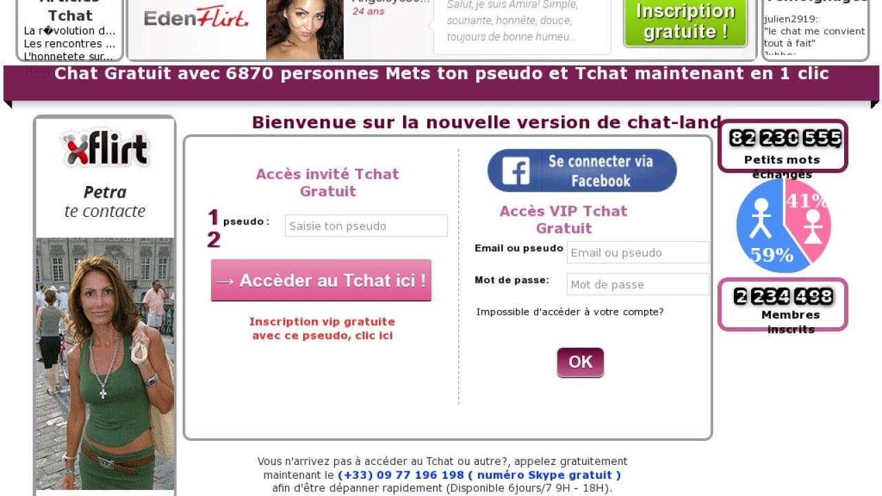Chat land, site de tchat gratuit et rencontres | Site Tchat