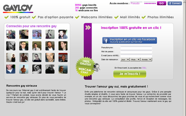 GayLov - Test, Avis, Infos et Tarifs