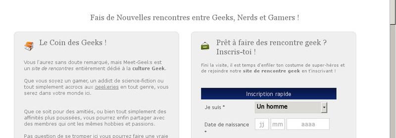 Meet-Geeks - Avis, Test, Infos et Tarifs