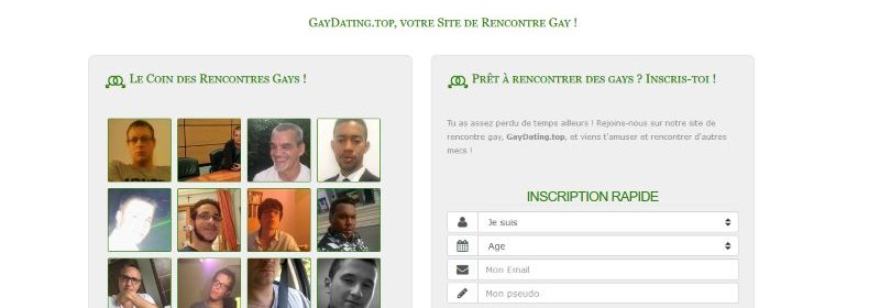Gaydating - Test, avis, infos et tarifs