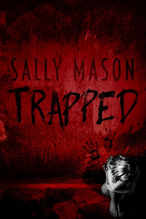 Trapped by Sally Mason   Book Cover Design by Render Compose
