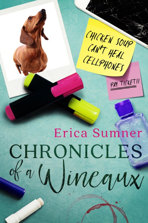 Chronicles of a Wineaux by Erica Sumner | Cover Design by Render Compose