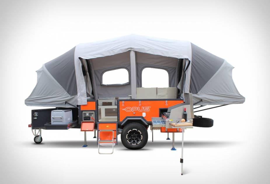 une tente caravane gonflable pour