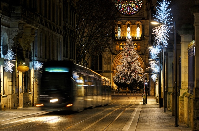 RVF Chrismas lights in France 2015: Bordeaux