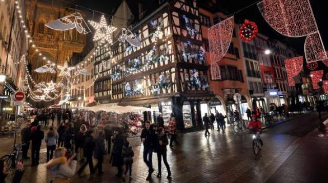 RVF Christmas lights in France 2015: Strasbourg