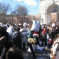 Pillow Fight NYC 2015