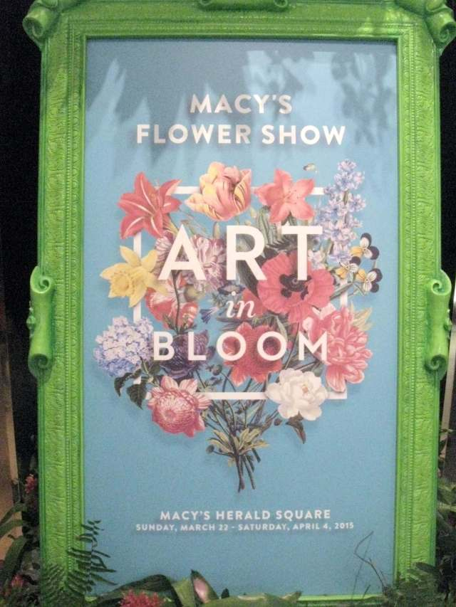 Macy's Flower Show 2015: Art in Bloom
