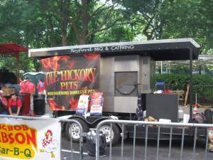 Mobile Barbecue pit