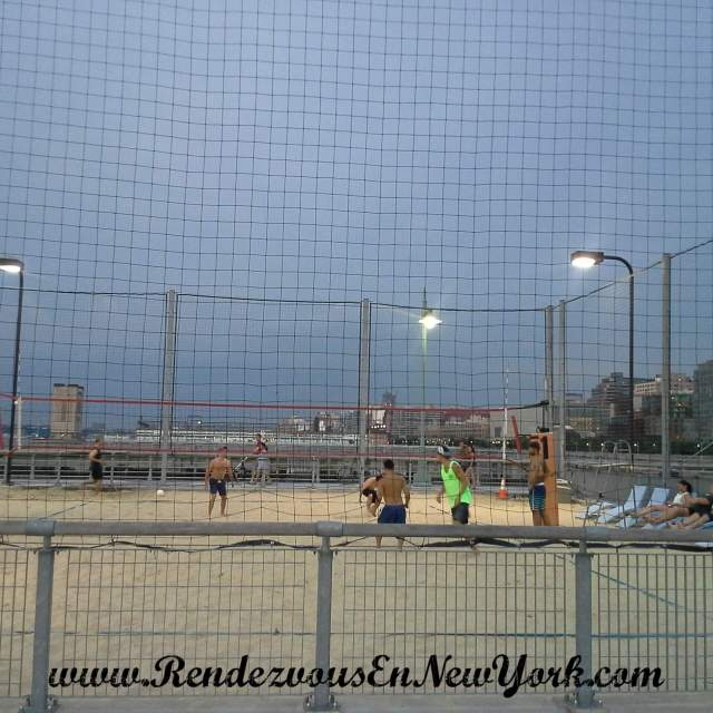 Hudson River Park/ Volleyball Courts